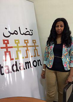 Fatima Idris, Geschäftsführerin bei Tadamon – The Egyptian Refugee Multicultural Council | © Goethe-Institut/Aya Nabil
