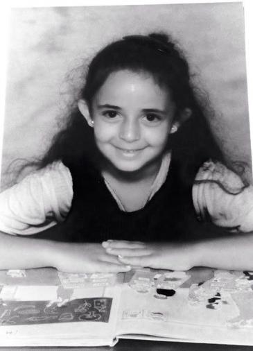 Huda al-Jundi in einer Grundschule in Worms; Foto: privat
