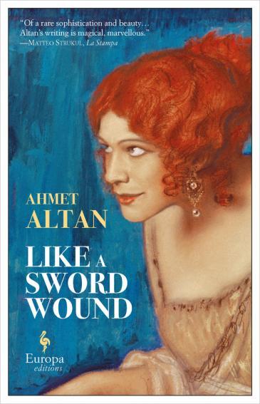 "Buchcover Ahmet Altan: ""Like a Sword Wound"" im Verlag Europa Editions"