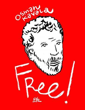 "Kampagnen-Foto ""Channeldraw: FREE!!! Osman Kavala"""