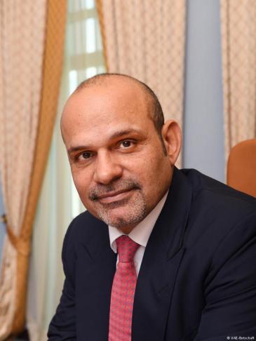 VAE-Botschafter in Berlin, Ali Abdulla Al Ahmed; Quelle: Botschaft der VAE in Berlin