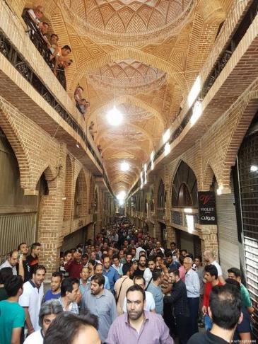 Der große Basar in Teheran; Foto: mashregnews