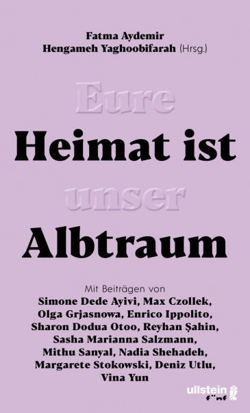 """Buchcover """"Eure Heimat ist unser Albtraum"""" im Ullstein-Verlag"""