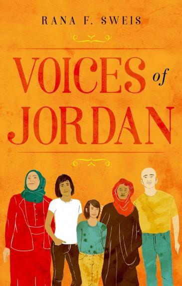 "Buchcover Rana Sweis: ""Voices of Jordan"", Hurst Publishers 2018"