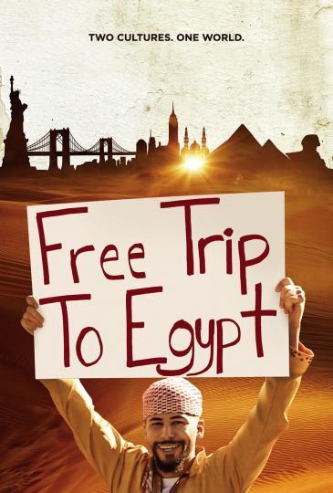"""Filmplakat """"Free Trip To Egypt"""""""