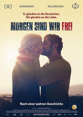 """Kinoplakat """"Morgen sind wir frei"""" von Hossein Pourseifi"""