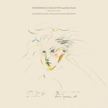 "Album-Cover ""Mummer Love"" des Soundwalk Collective mit Patti Smith; Quelle: Bella Union"