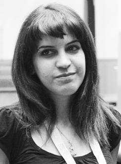 Die tunesische Bloggerin Lina Ben Mhenni; Foto: Lina Ben Mhenni
