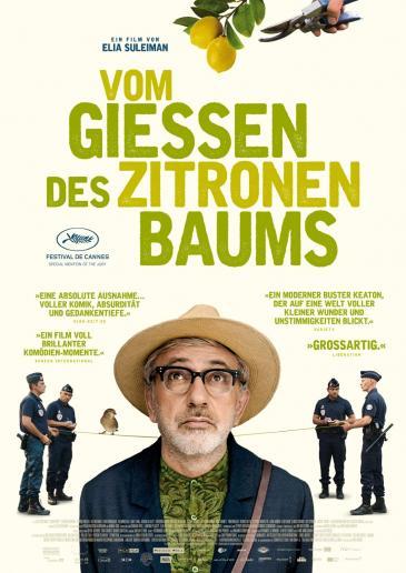 """Kinoplakat """"Vom Gießen des Zitronenbaums"""" von Elia Suleiman"""