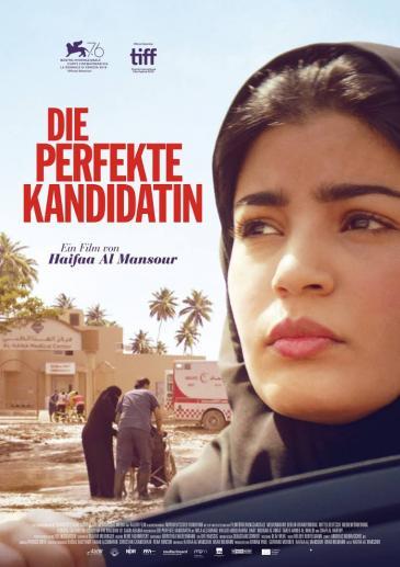 "Kinoplakat Haifaa Al-Mansours Film ""Die perfekte Kandidatin"""