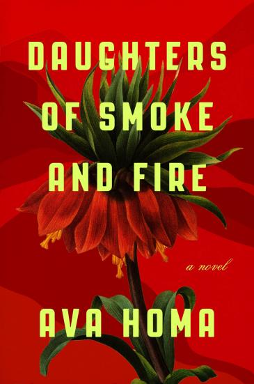 """Buchcover of Ava Homa: """"Daughters of Smoke and Fire"""" im Verlag abrams&chronicle"""