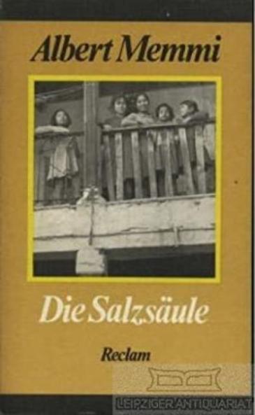 """Der Roman """"Die Salzsäule"""" von Albert Memmi; Foto: Reclam Verlag"""