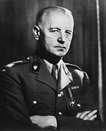 Władysław Eugeniusz Sikorski, Ministerpräsident der Polnischen Exilregierung von 1939 bis 1943; Foto: Wikipedia/Collection of the Office of War Information