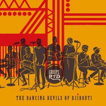 """Cover des Albums """"The Dancing Devils of Djibouti"""" von Groupe RTD (Quelle: Ostinato Records)"""