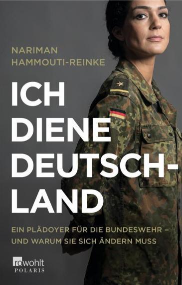 """Buchcover Nariman Hammouti-Reinke: """"Ich diene Deutschland"""" im Verlag Rowohlt/Polaris"""