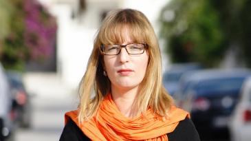 Sarah Mersch arbeitet als Korrespondentin und Trainerin für die DW-Akademie in Tunis. Foto: DW