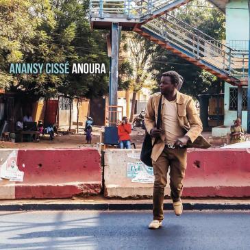 """Cover von Anansy Cisse's """"Anoura"""" (erschienen bei Riverboat Records)"""