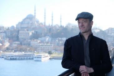 Der Autor und Islamwissenschaftler Stefan Weidner in Istanbul 2020. (Foto: Viktor Burgi).