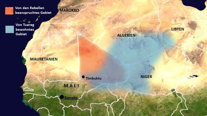 Tuareg und berberische Bevölkerungsgruppen in Mali