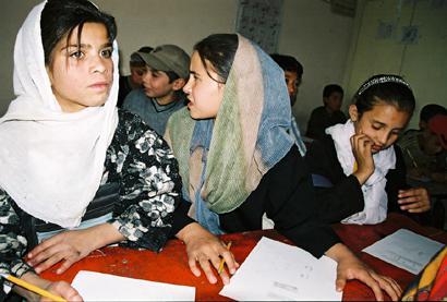 Schülerinnen in Kabul