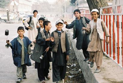 Kinder auf Kabuls Straßen