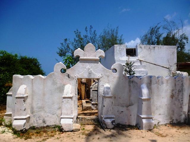 Moschee auf Chumbe Island