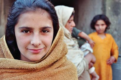 Mädchen in Kabul