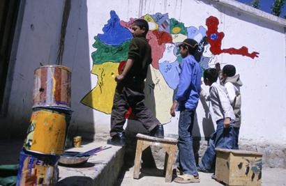 Grundschule in Kabul