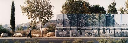 13 Landscape painted on wall