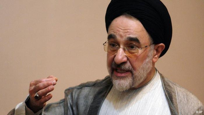Unterstützung für Mohammad Khatami