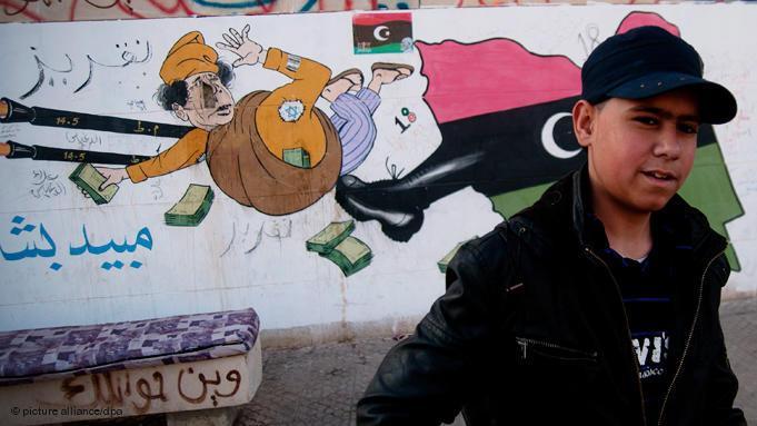 12. Tritt in den Hintern für Gaddafi