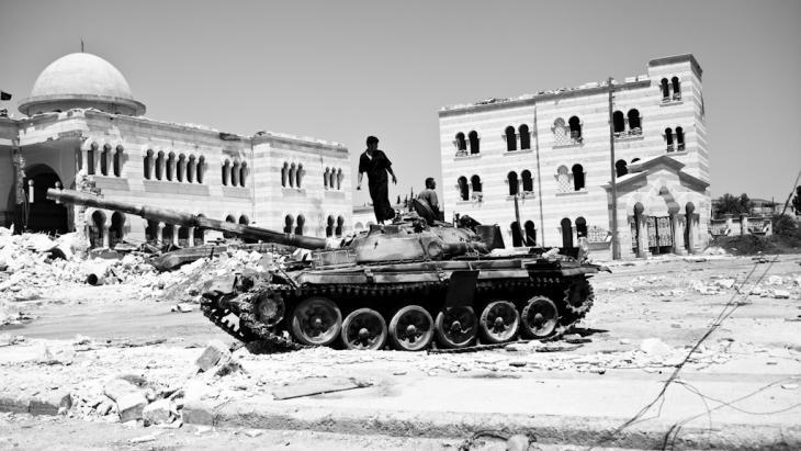 Panzer in Azaz
