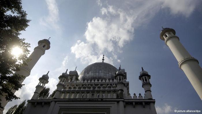 Berliner Moschee: Fernöstlicher Einfluss