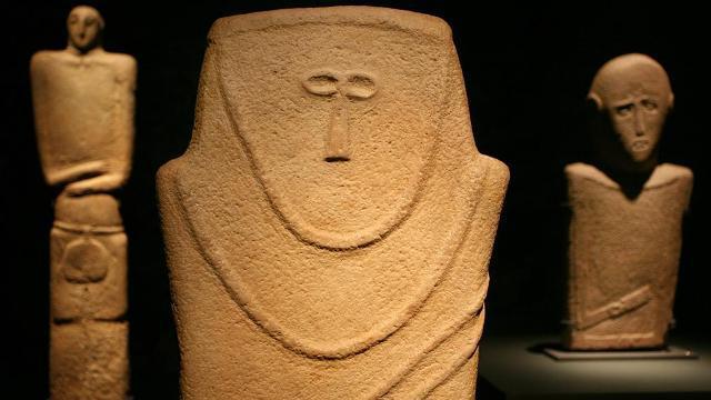 Menschenbilder aus Stein