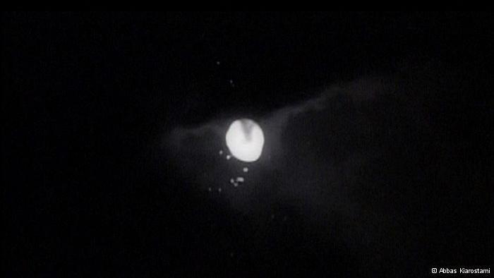 Mond im Teich