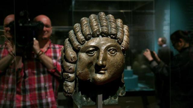 2000 Jahre alter Bronzeguss