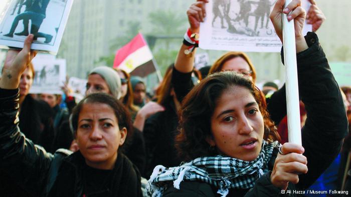 Protest der Frauen für mehr Rechte