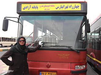 Busfahrerin in Teheran; Foto: Mehr