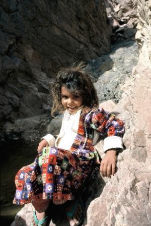 Beduinenmädchen