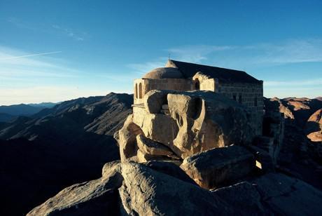 "Der ""Jebel Musa"" des Sinais"