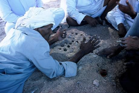 Beduinen beim Spiel
