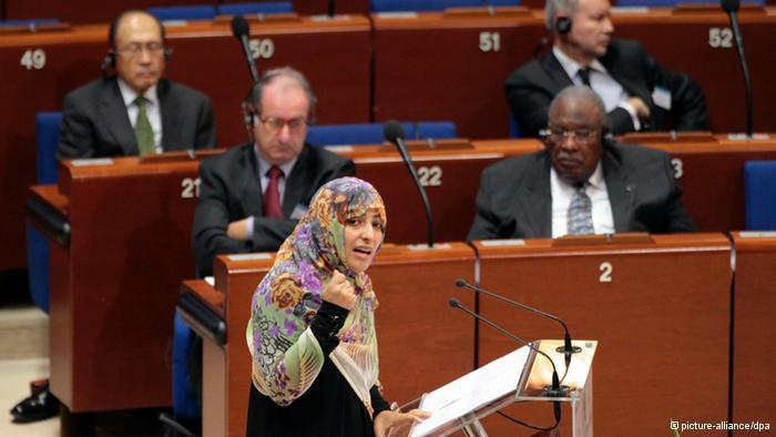 Nobelpreisträgerin und Menschenrechtlerin