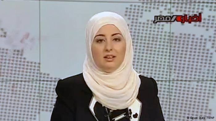 Erste Nachrichtensprecherin mit Kopftuch
