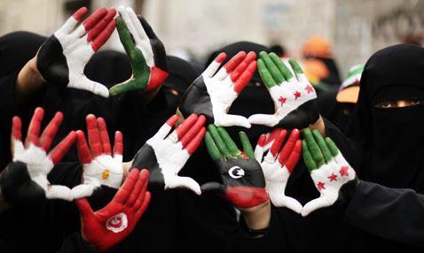 15. Hände der Freiheit für die arabische Welt