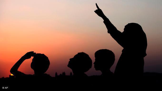 Der Beginn und das Ende des Ramadan wird durch die Sichtung der Mondsichel bestimmt. Dieses Jahr hat der heilige Monat am 1. August begonnen und wird vermutlich bis zum 30. oder 31. August andauern; Foto: AP.