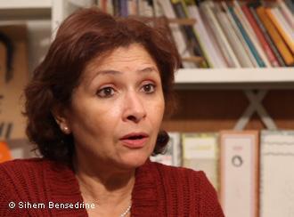 Sihem Bensedrine - Kämpferin für Freiheit und Menschenrechte