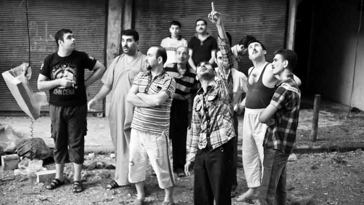 Einwohner Aleppos
