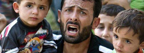 Furcht vor Assads Schergen: Aus Angst vor Gewalt des syrischen Regimes sind viele Syrer in die Türkei geflüchtet, wo sie in vier Zeltlagern untergebracht sind und weitgehend abgeschirmt werden; Foto: dapd