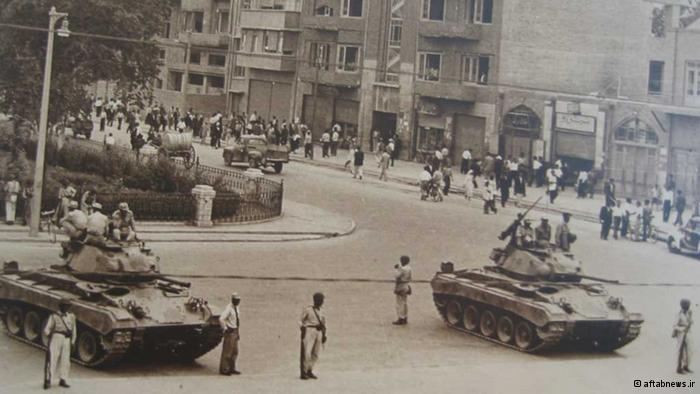 Entscheidungsschlacht vor Mossadeghs Haus; aftabnews.ir