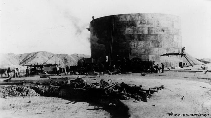 Öl für das Empire; Foto: Hulton Archive/Getty Images